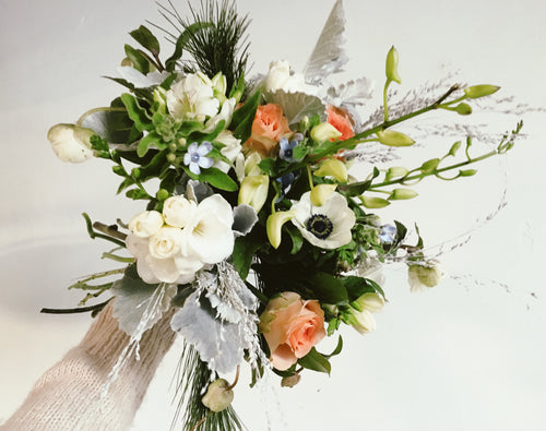 The Frosty bouquet