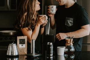 Josh Rexford photo shoot features Aldea Coffee