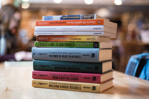 The 10 Books on the Shelf at Aldea and why they are there