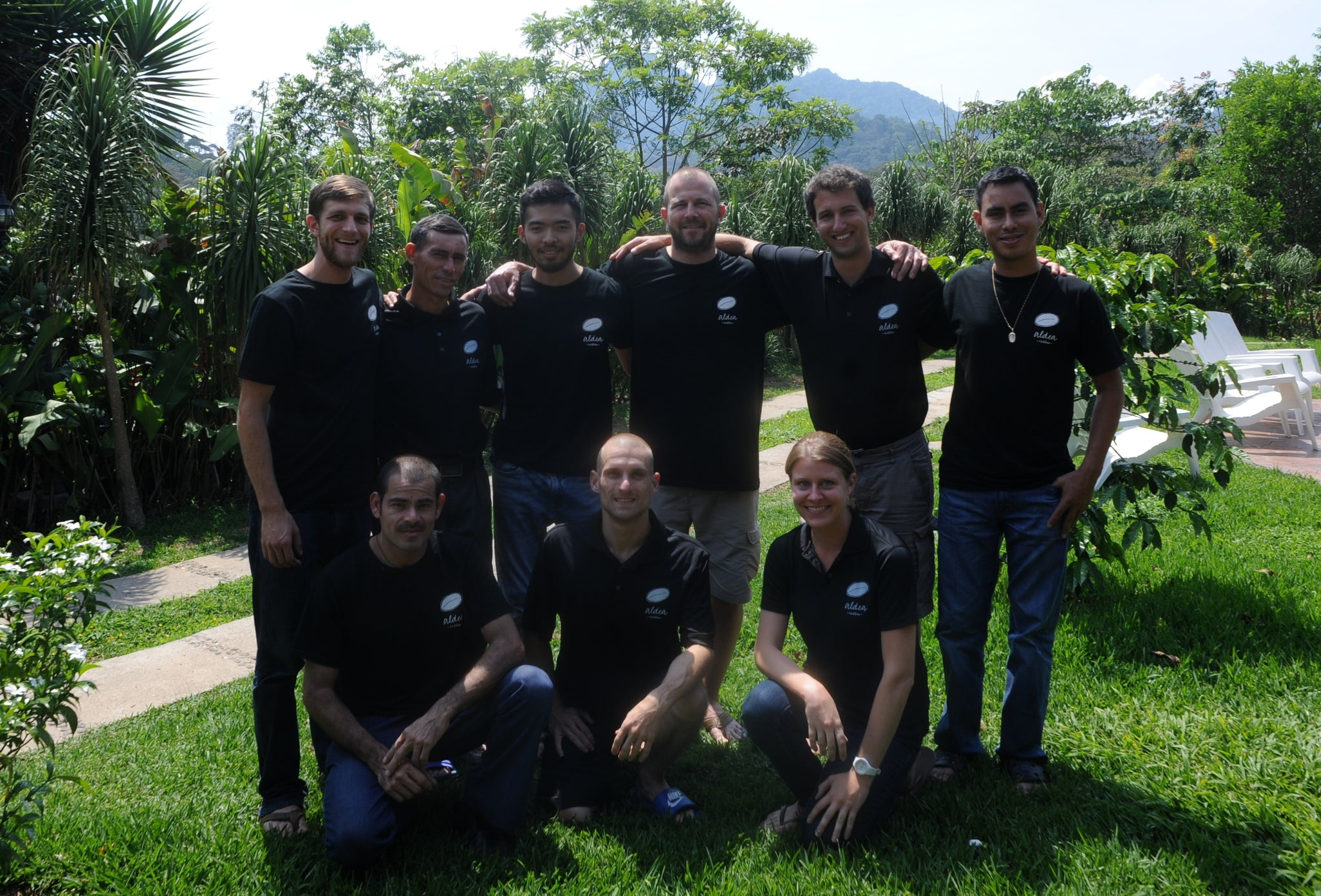 The Aldea Development Team In La Union, Honduras