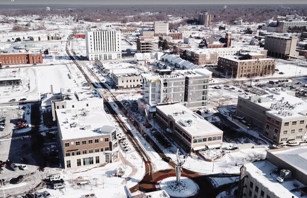 Downtown muskegon: in the midst of a renaissance