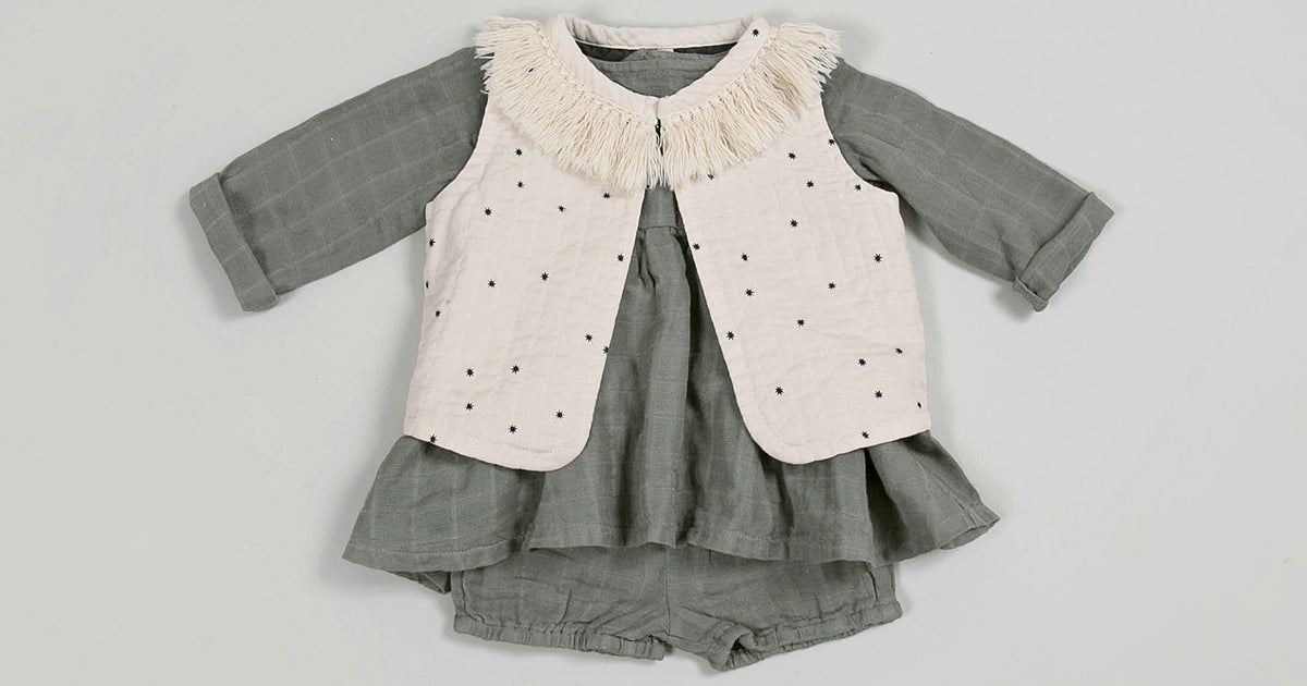 Rylee and Cru Vest and Blouse