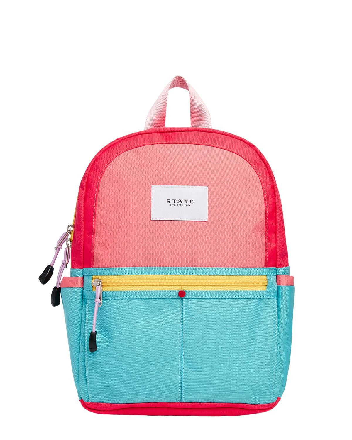 State Bags Mini Kane in Pink + Mint