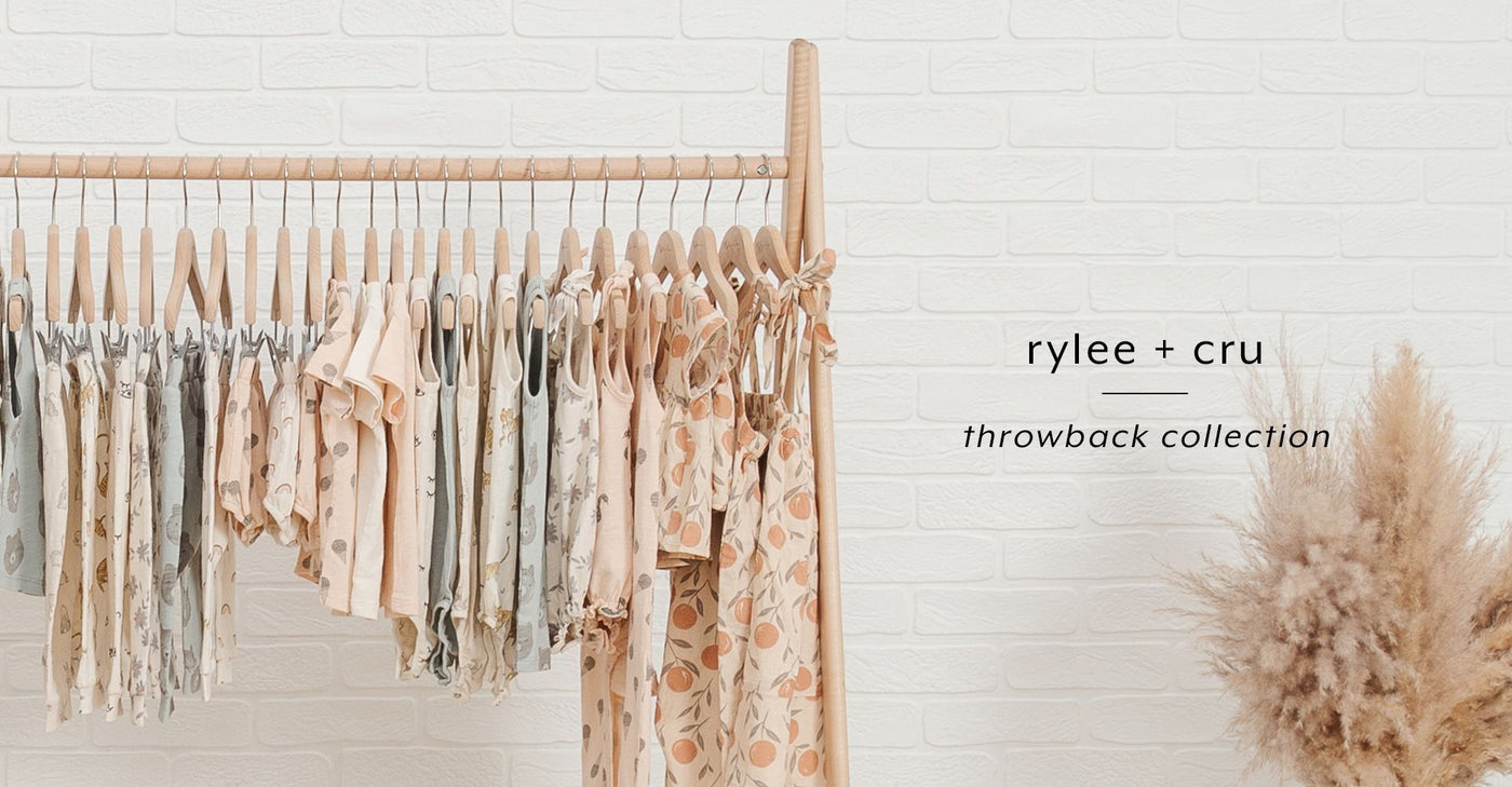 Shop the Rylee + Cru Throwback Collection
