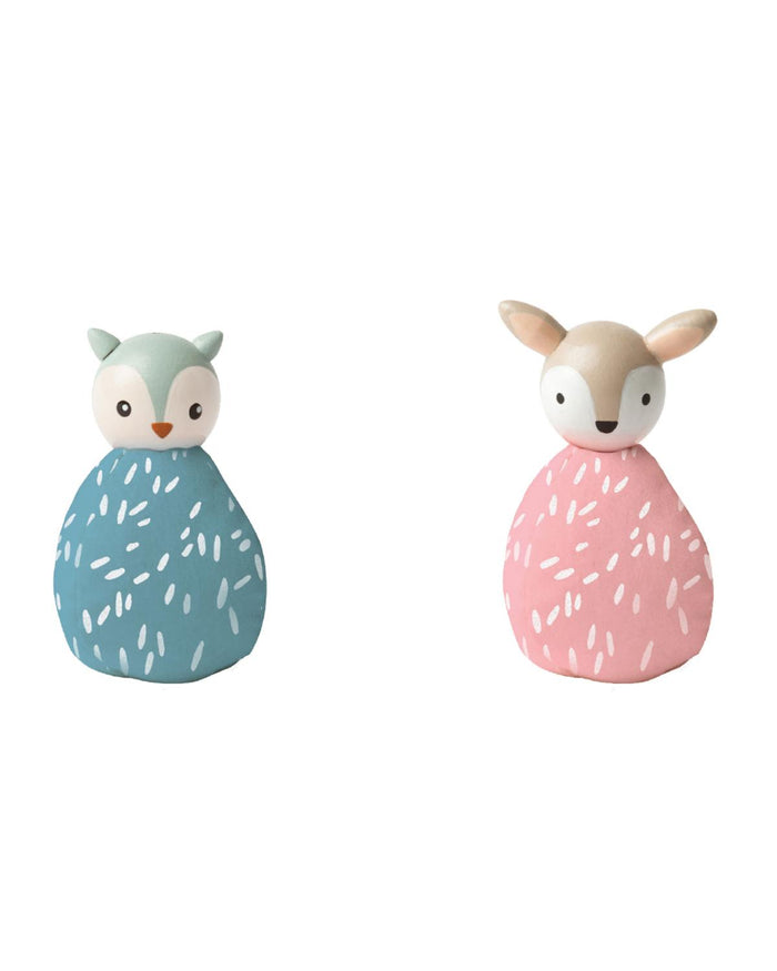 MiO Animal Set - Owl + Deer