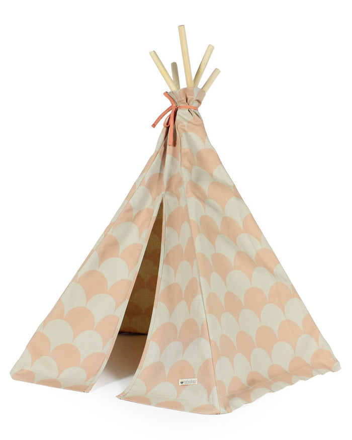 Mini Arizona Teepee in Pink Scales
