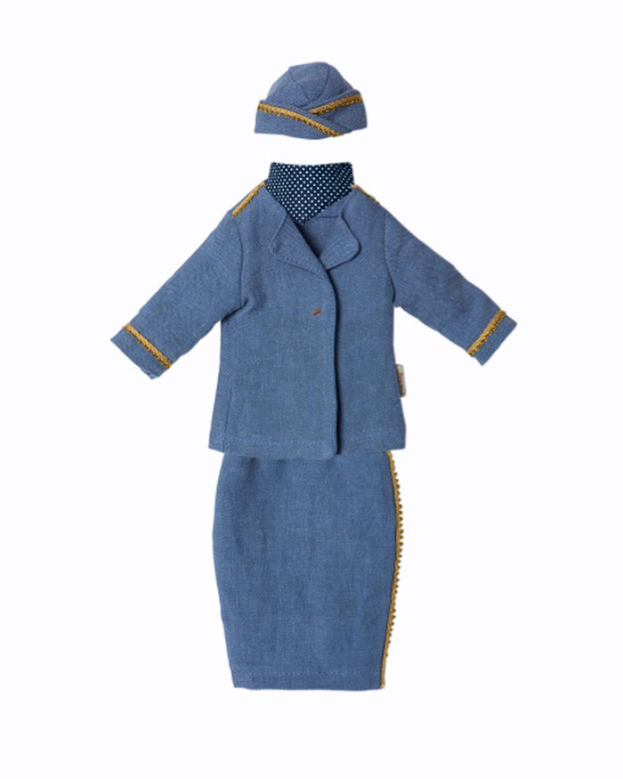 Small Ginger Mum Stewardess Suit