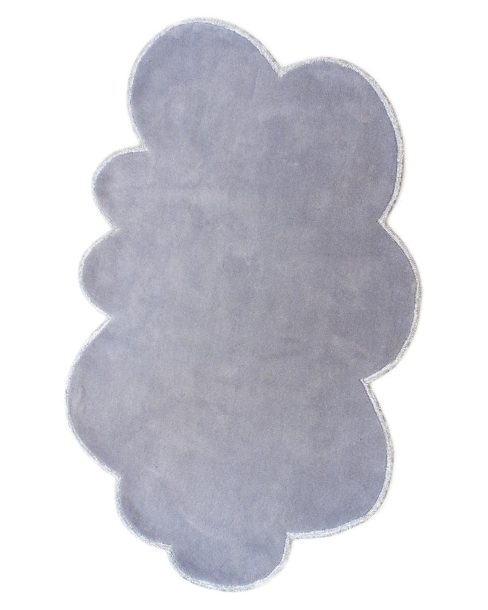 Small Silver Lining Cloud Rug in Cloudy