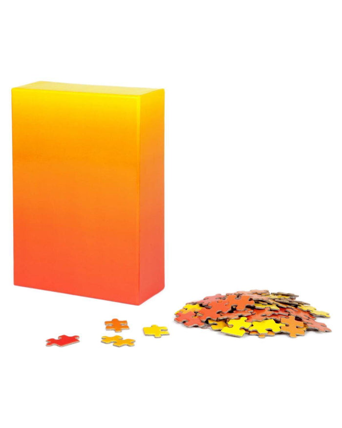 Little areaware play Gradient Puzzle in Red + Yellow