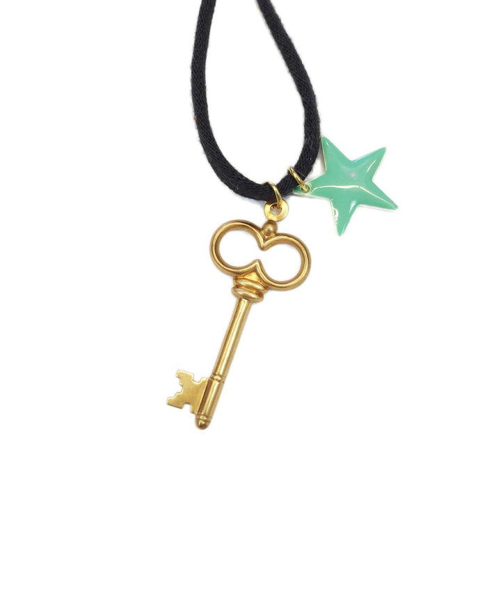 Little atsuyo et akiko accessories Le Star Necklace in Black