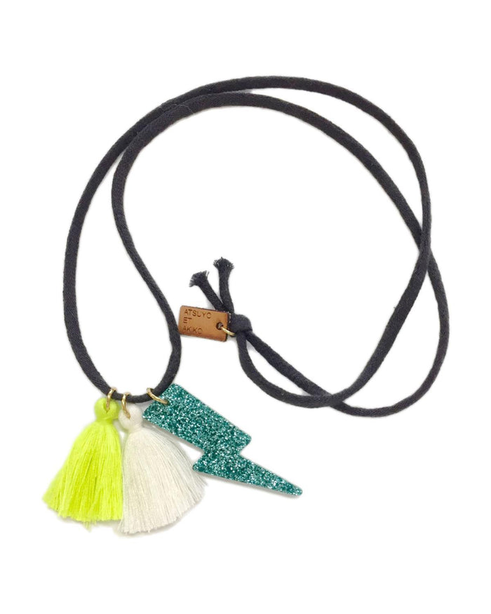 Little atsuyo et akiko accessories Tracy Necklace in Green