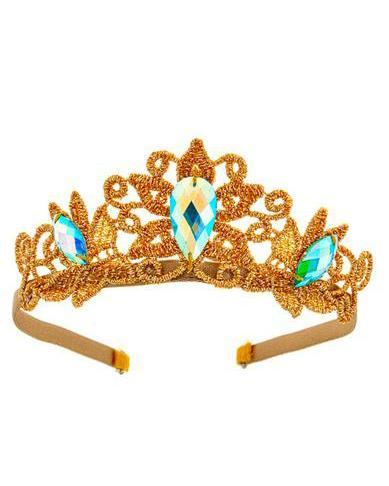 Little bailey + ava play chloe princess crown in turquoise jewel