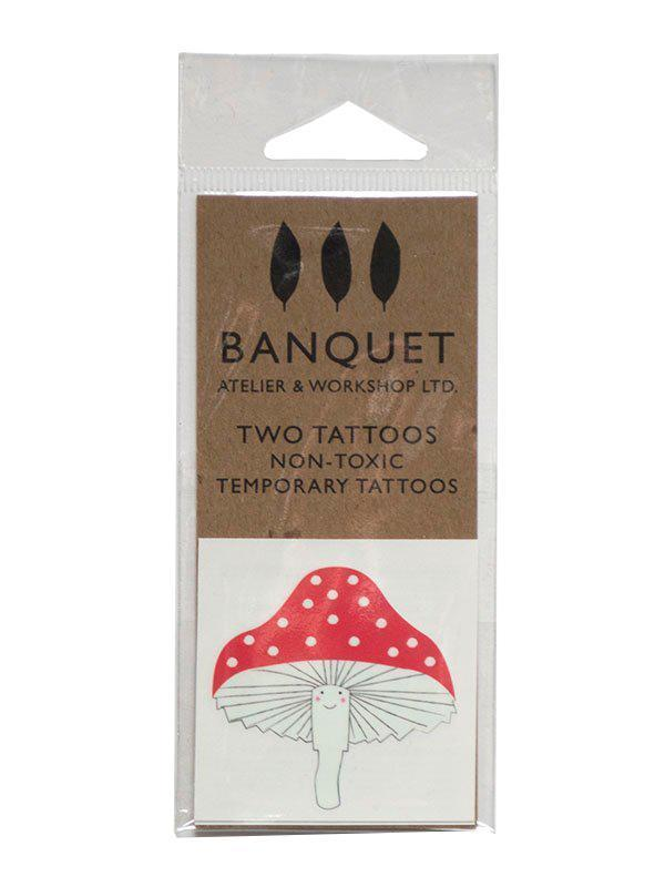 Little banquet atelier + workshop paper+party Mushroom Tattoo
