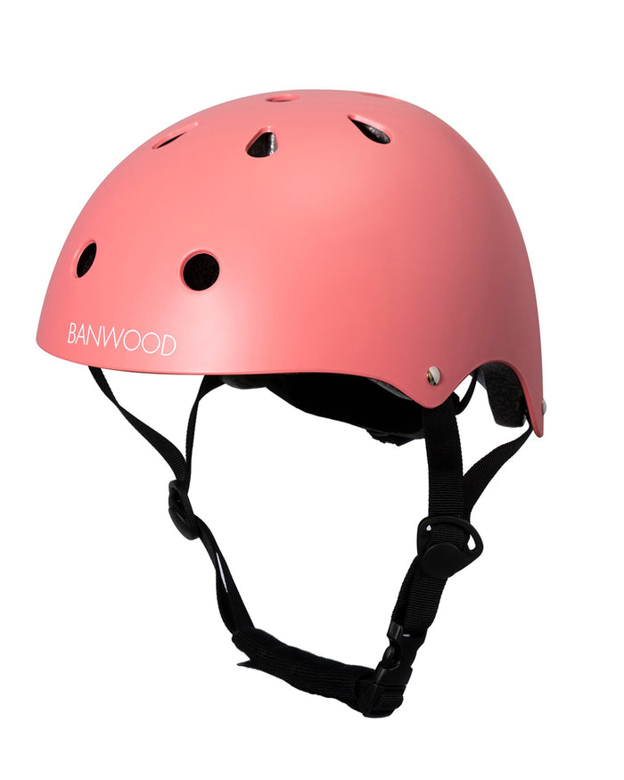 Little banwood play classic helmet in coral