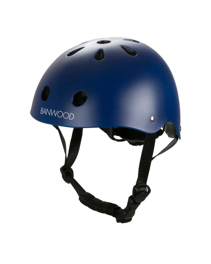 Little banwood play classic helmet in matte navy
