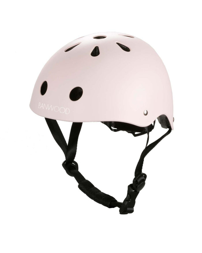 Little banwood play classic helmet in matte pink