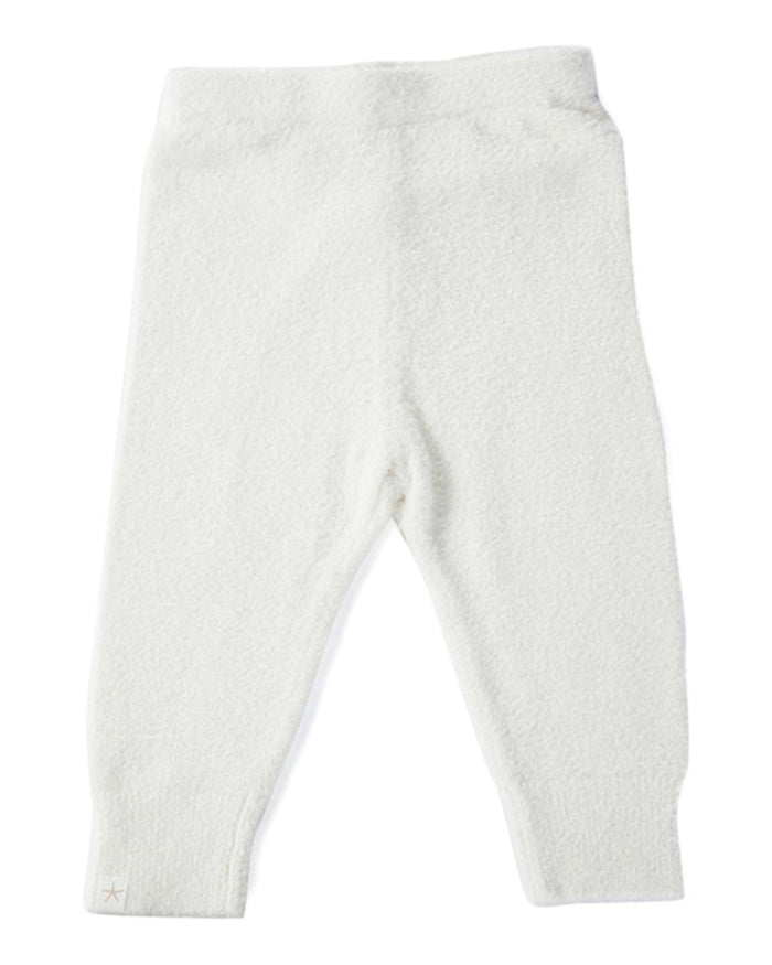 Little barefoot dreams baby girl xs Cozychic Lite Infant Pant in Pearl