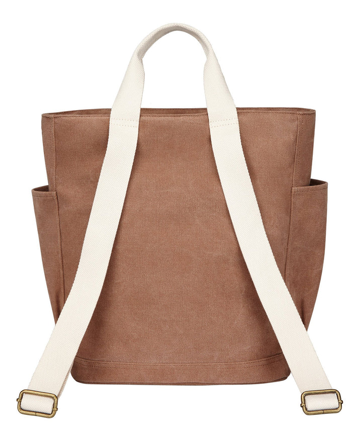 Little birdling bags accessories backpacker in chestnut