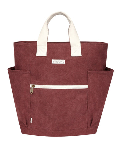 Little birdling bags accessories backpacker in maroon