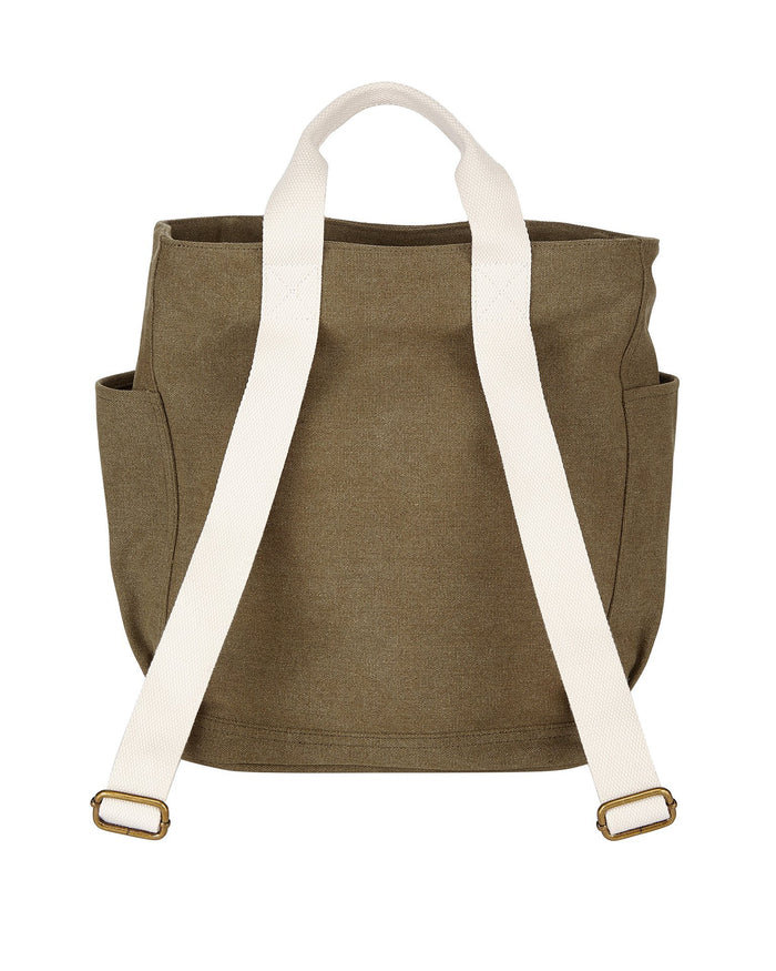 Little birdling bags accessories backpacker in olive