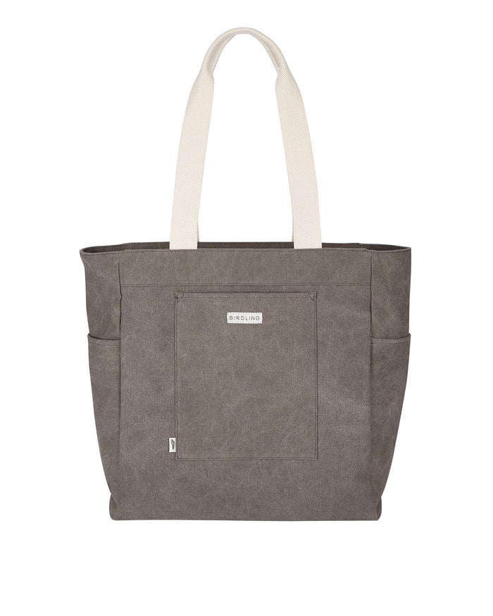 Little birdling bags accessories everyday tote in grey