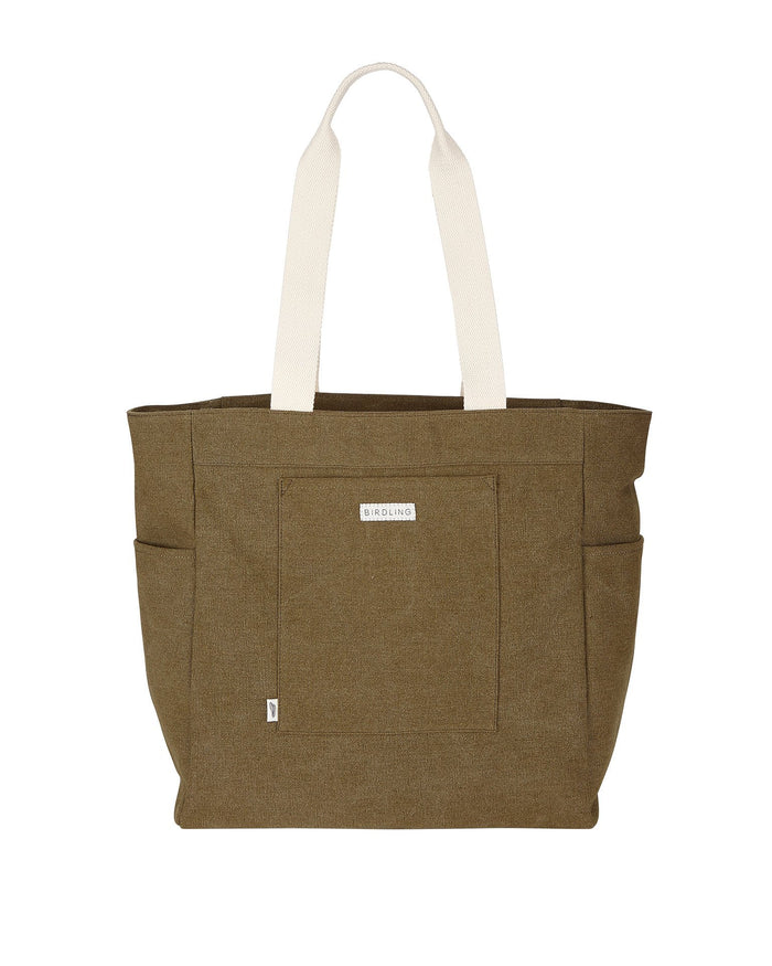 Little birdling bags accessories everyday tote in olive