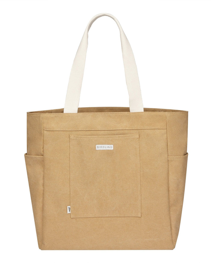 Little birdling bags accessories everyday tote in wheat