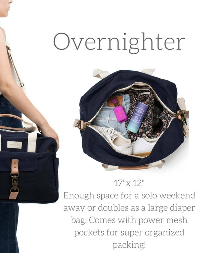 Little birdling bags llc accessories Overnighter in Navy
