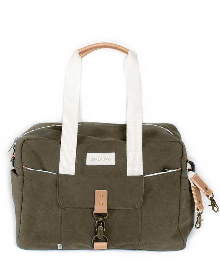 Little birdling bags llc accessories Overnighter in Olive