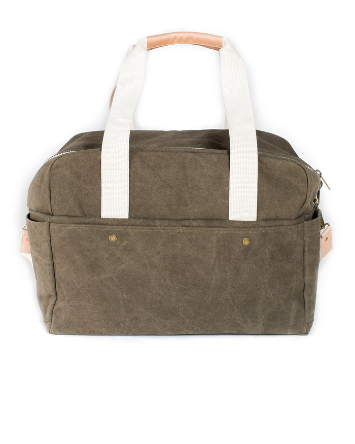 Little birdling bags llc accessories Weekender in Olive