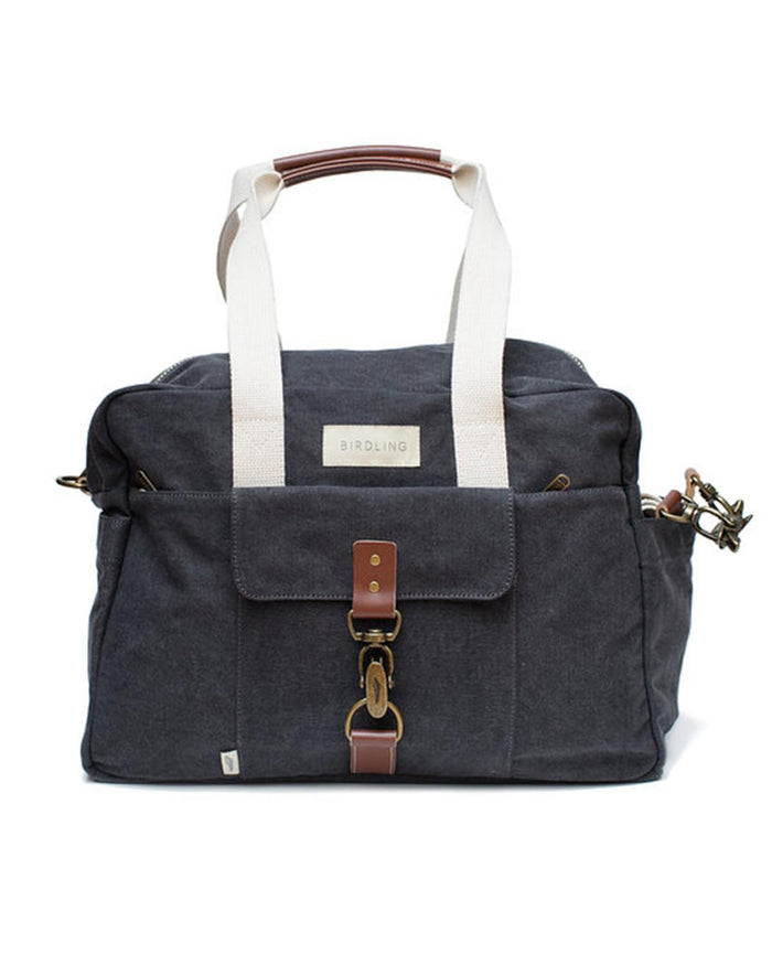 Little birdling bags accessories Overnighter in Washed Charcoal