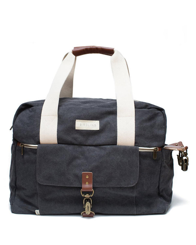 Little birdling bags accessories Weekender in Washed Charcoal
