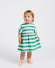 Little bobo choses baby girl a dance romance striped dress