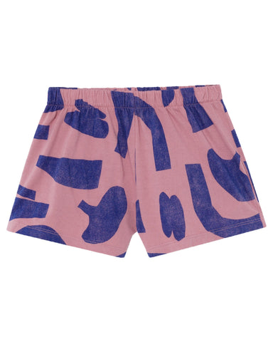 Little bobo choses girl abstract jersey shorts