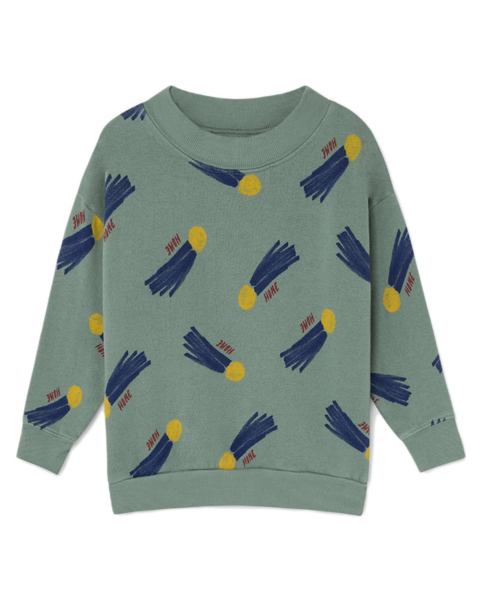 Little bobo choses boy all over a star called home sweatshirt