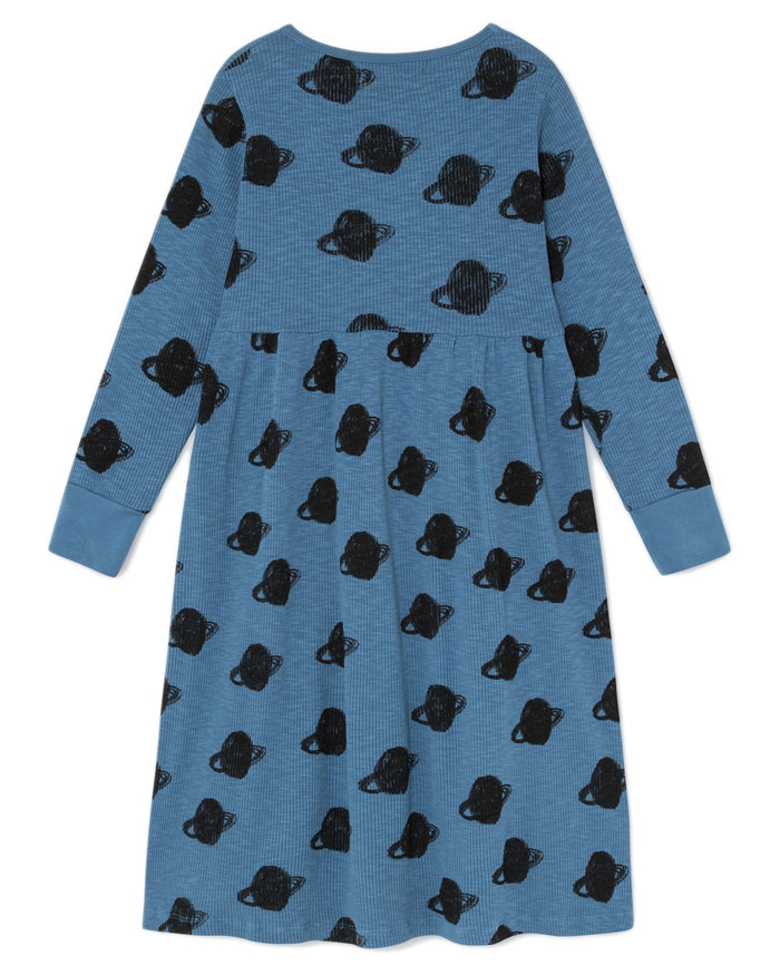 Little bobo choses girl all over big saturn jersey dress