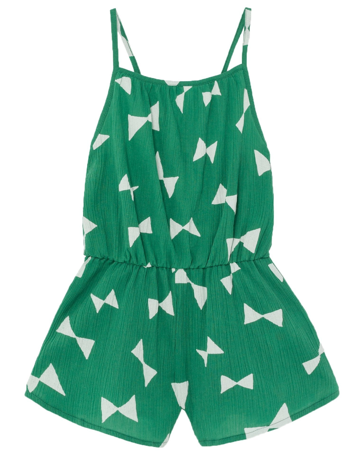 Little bobo choses girl all over bow woven playsuit