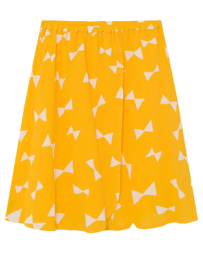 Little bobo choses girl all over bow wrap midi skirt