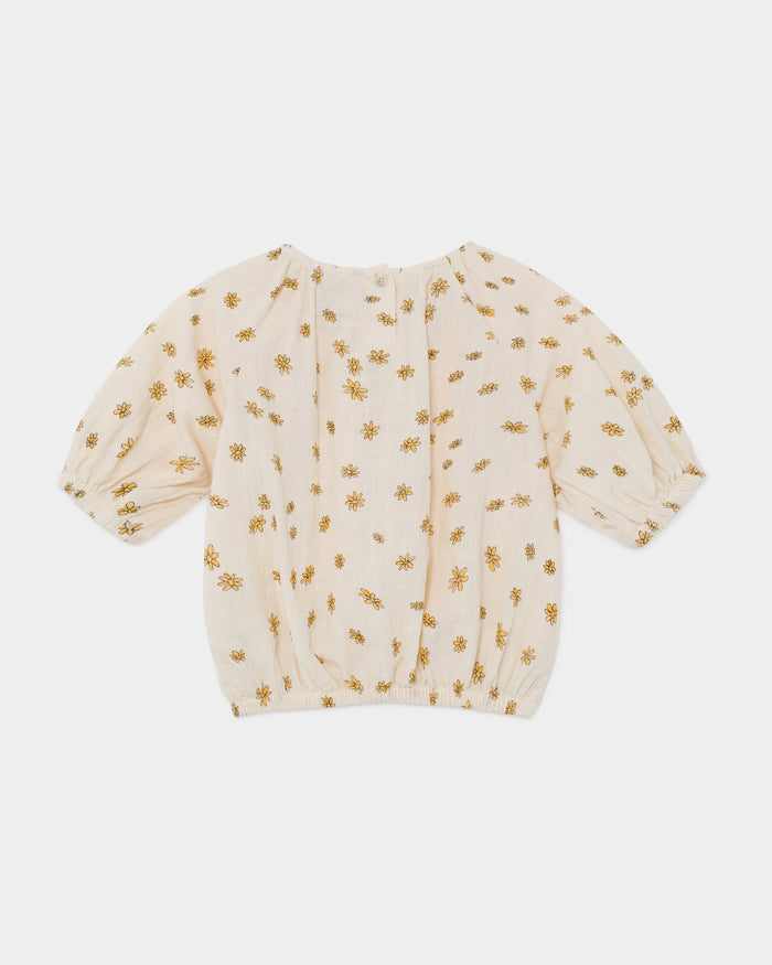 Little bobo choses girl all over daisy blouse