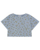 Little bobo choses girl all over daisy cropped sweatshirt