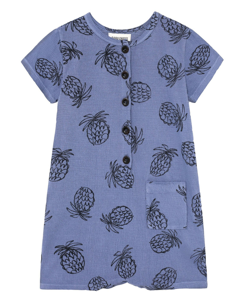 Little bobo choses baby girl all over pineapple playsuit