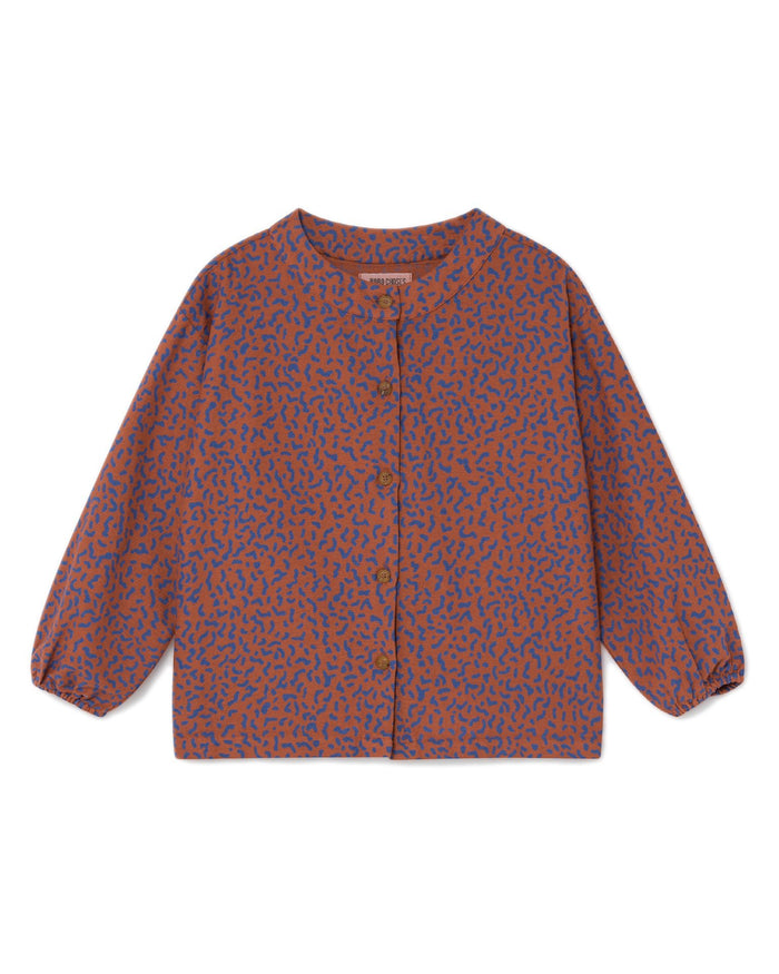 Little bobo choses girl all over stardust blouse