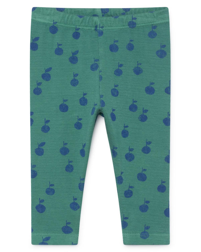 Little bobo choses baby girl 3-6 apples baby leggings