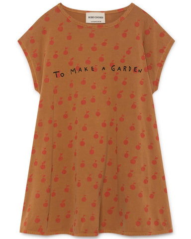 Little bobo choses girl 2-3 apples evase dress
