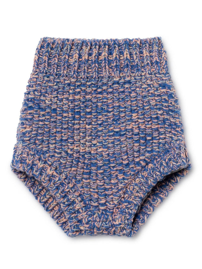 Little bobo choses baby girl 3-6 b.c. knitted baby culotte