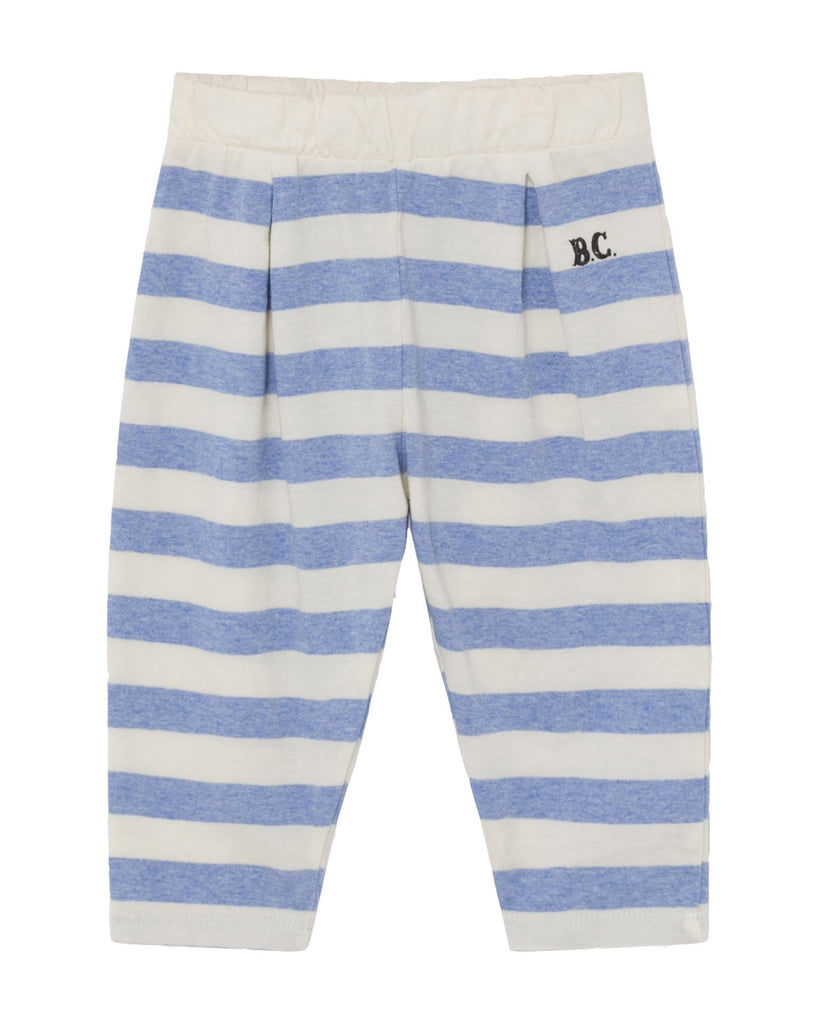 Little bobo choses baby boy b.c. striped jersey baby trousers