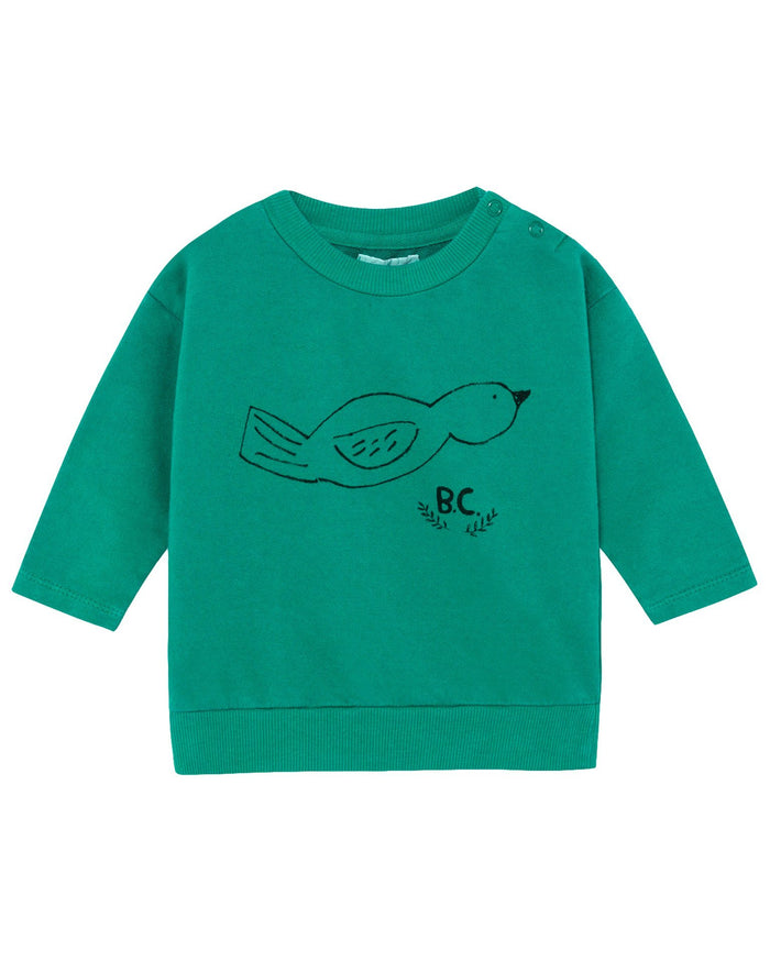 Little bobo choses baby boy bird baby sweatshirt