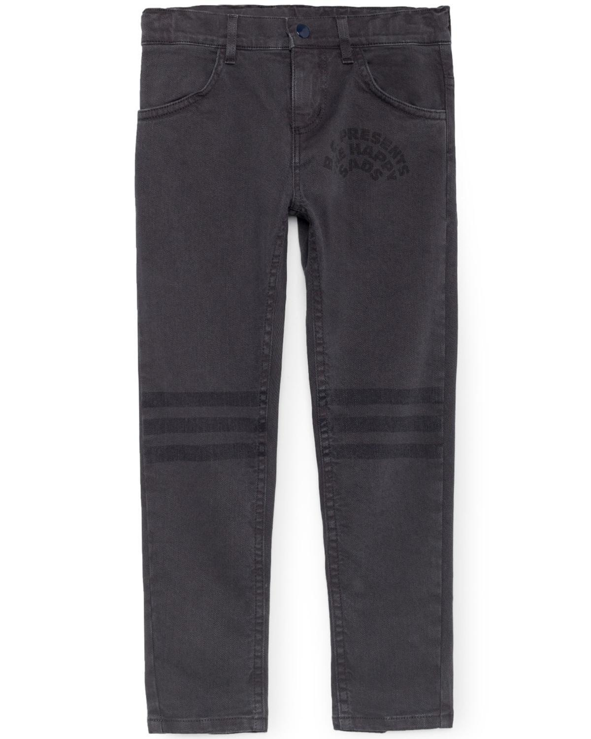 Little bobo choses boy 2-3 black slim fit trousers