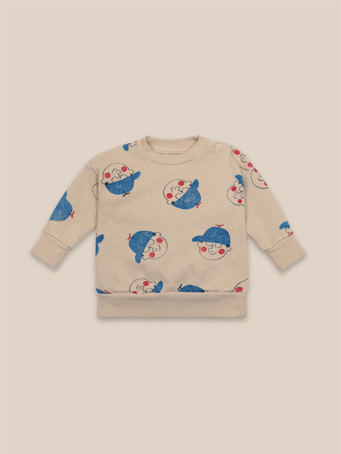 Little bobo choses baby Boy All Over Baby Sweatshirt