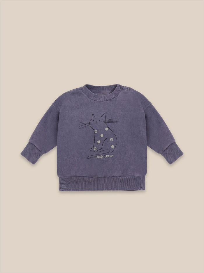 Little bobo choses baby Cat Baby Sweatshirt